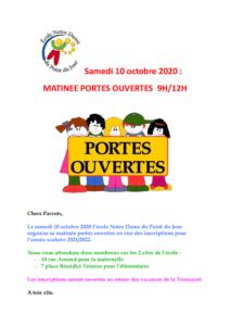 thumbnail of AFFICHE ECOLE MATINEE PORTES OUVERTES 10 octobre 2020 (1) (1)